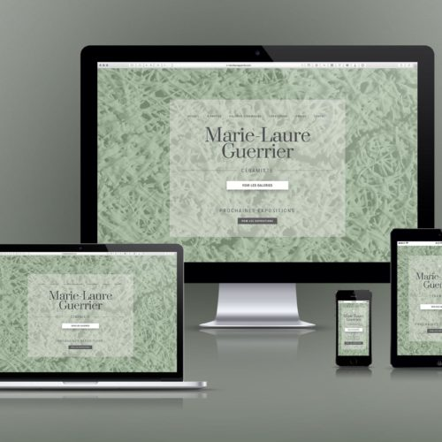 Marie-Laure Guerrier – Composition – Site Web ResponsiveDesign